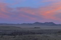 Sunset over Fort Davis, Texas.