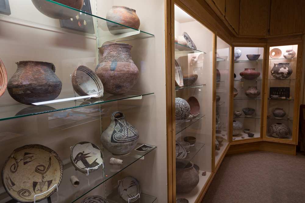 The Mimbres Room, Deming Luna Mimbres Museum, New Mexico