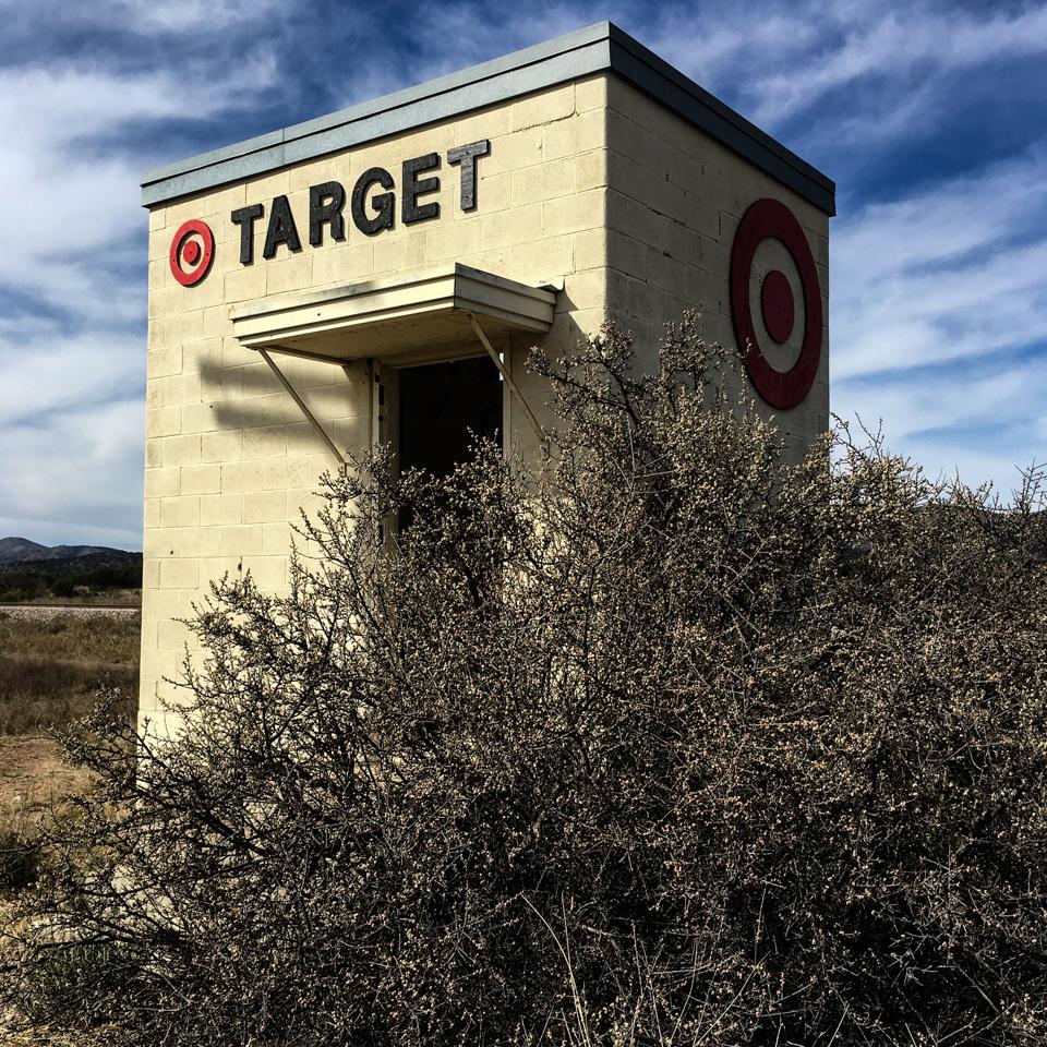 Tiny Target Marathon faux store